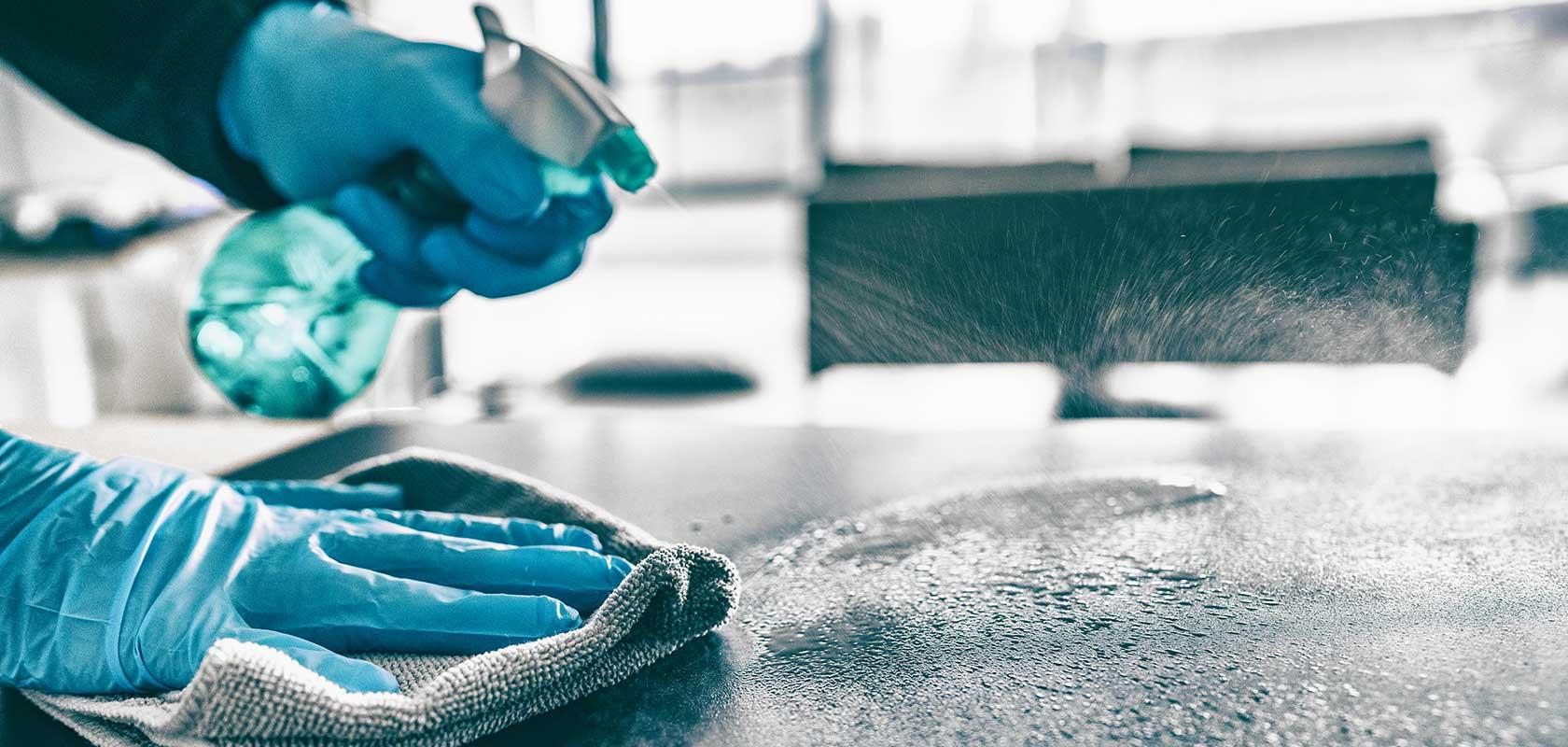 coronavirus house cleaning